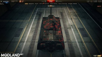 BLACK WITH RED PATTERN SKIN for IS-3 1.4 [1.4.0.1], 4 photo